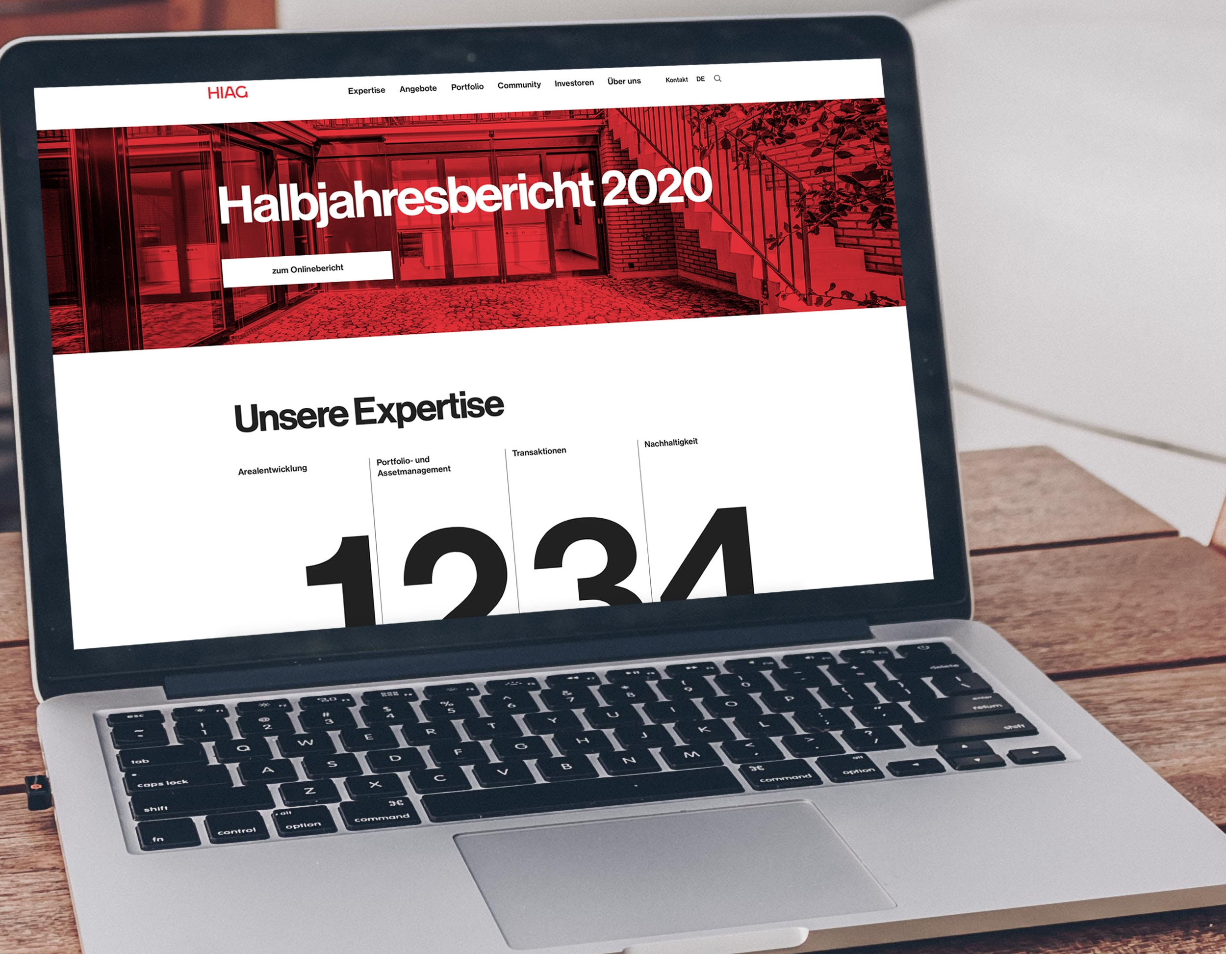 Neue Website HIAG